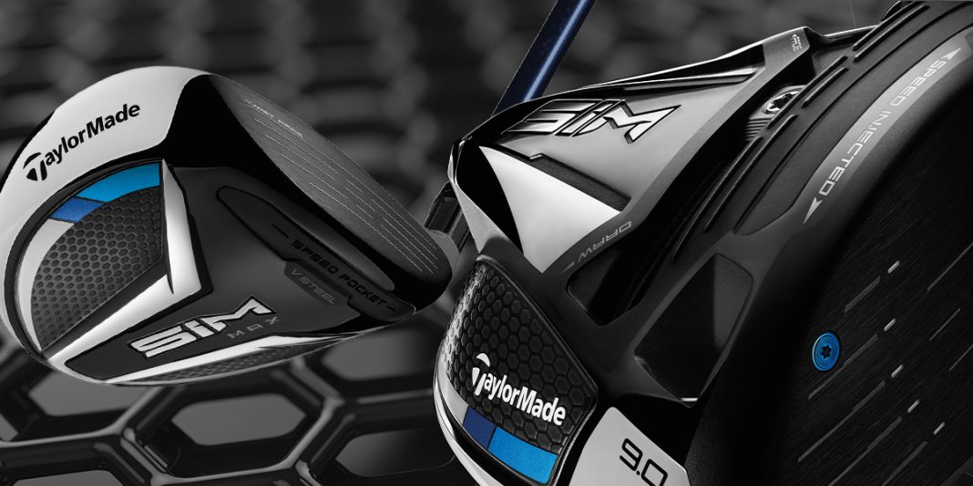 TaylorMade SIM drivers and woods