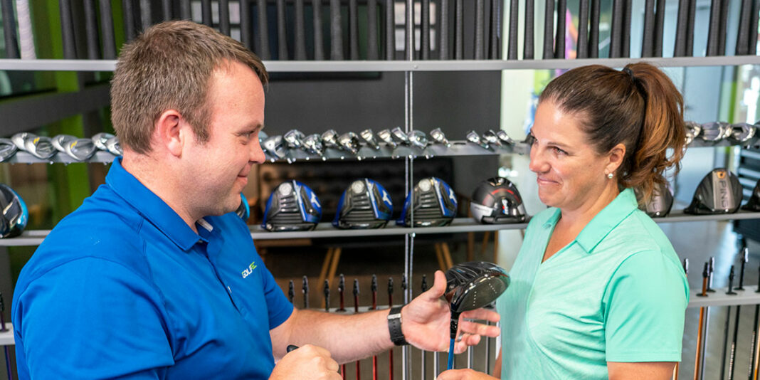 GOLFTEC name as a GOLF's Top 50 Clubfitters in North America- header
